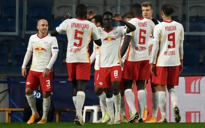 Champions LIVE: vincono Lipsia e Krasnodar
