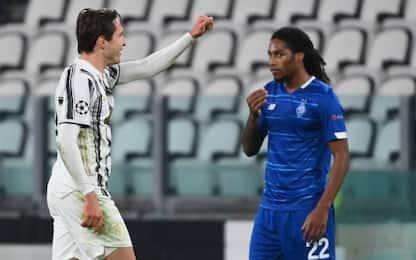 Juve-Dinamo Kiev 1-0 LIVE: traversa di Ronaldo