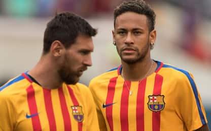 """Neymar a Leo: """"Ci vediamo presto"""". Altro indizio?"""