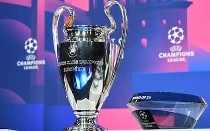 Sarà Porto-Juve, Lazio-Bayern e Atalanta-Real