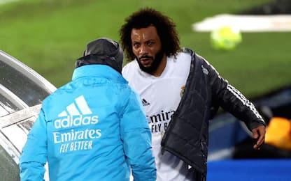 Anche Marcelo ko: out 3 settimane, niente Atalanta