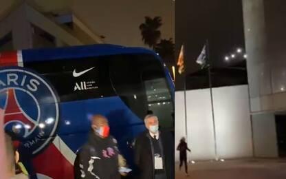 """Fuochi e fischi: Psg """"disturbato"""" a Barcellona"""