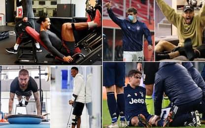 Neymar&Co, le due (stellari) top XI degli assenti