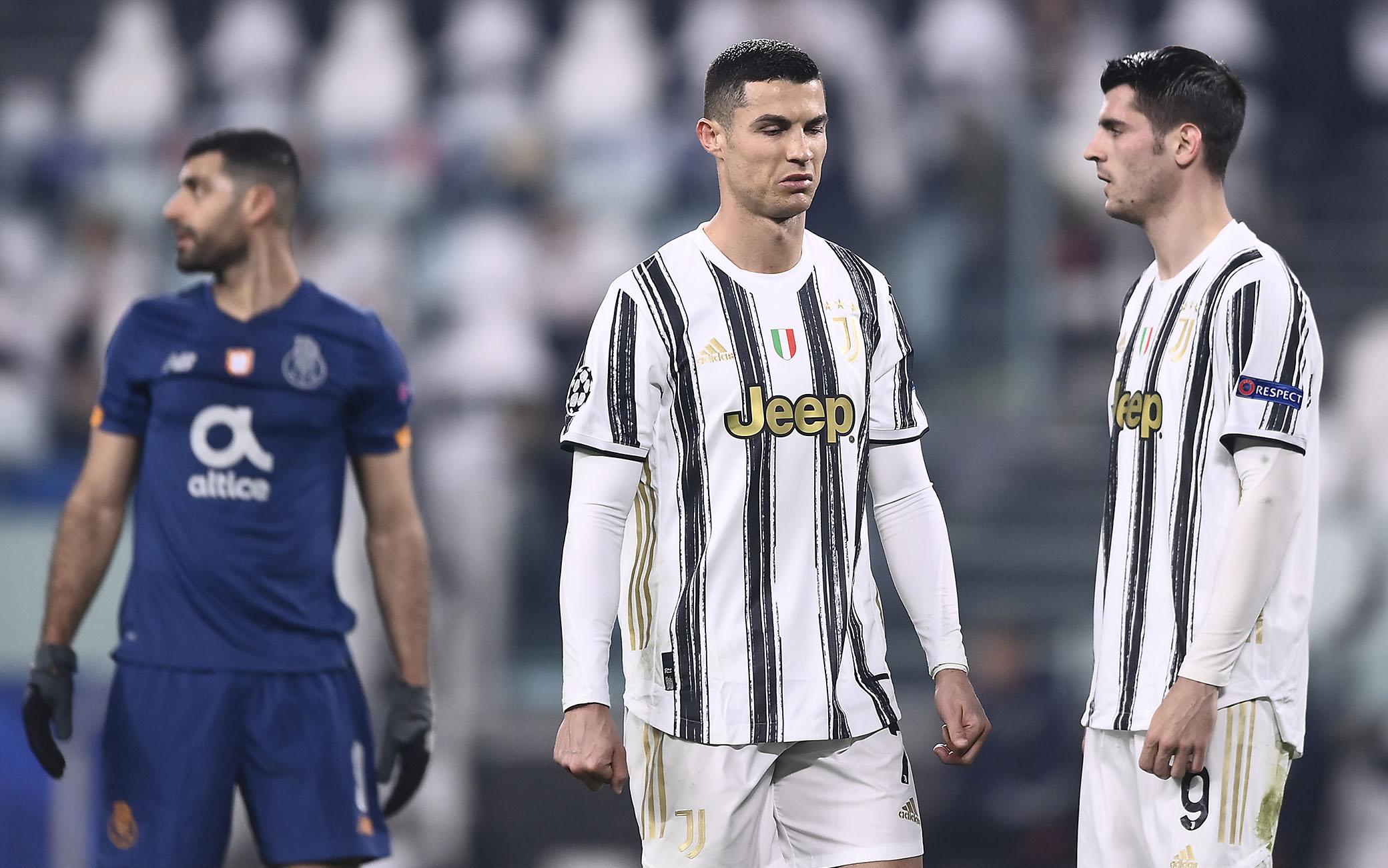 Cristiano Ronaldo ha deluso agli ottavi col Porto