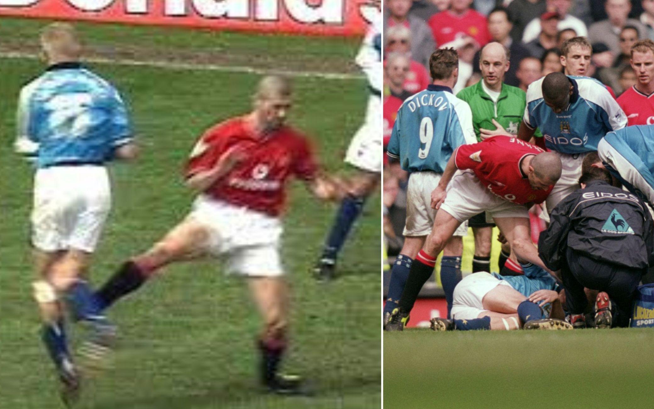 Haaland e Roy Keane