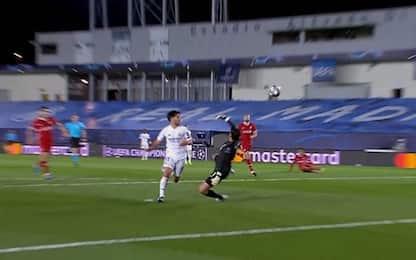 Asensio-gol, ma che errore Alexander-Arnold. VIDEO