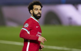 Mohamed Salah of Liverpool FC during the Champions League match, 1/4 between Real Madrid and Liverpool played at Alfredo Di Stefano Stadium on April 6, 2021 in Madrid, Spain. (Photo by Ruben Albarran /Pressinphoto / Icon Sport)