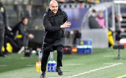 """Guardiola: """"Semifinale un sollievo, l'aspettavo"""""""