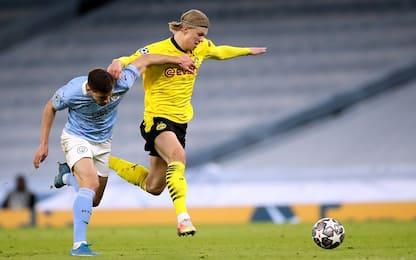 Dortmund-City, c'è Reus con Haaland