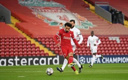 Liverpool-Real 0-0 LIVE: Salah sfiora il gol
