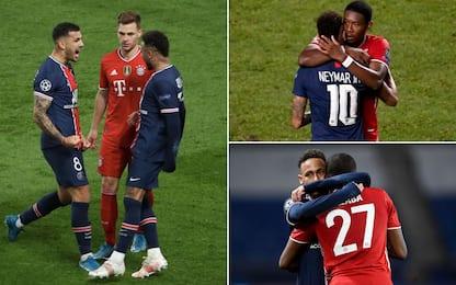 Neymar abbracciato solo Alaba: c'è un perché