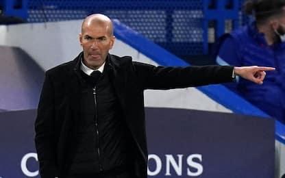 """Zidane: """"Merito al Chelsea. Futuro? Non ci penso"""""""