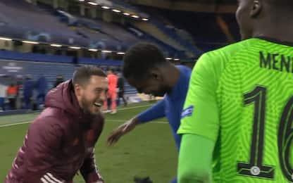 Sorrisi dopo ko contro il Chelsea, Hazard si scusa