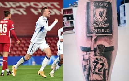 Ilicic mostra tatuaggio Anfeld, ma non è il suo