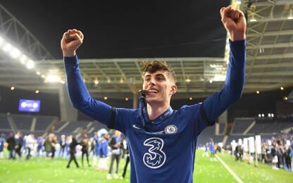 Havertz eroe, in finale il primo gol in Champions