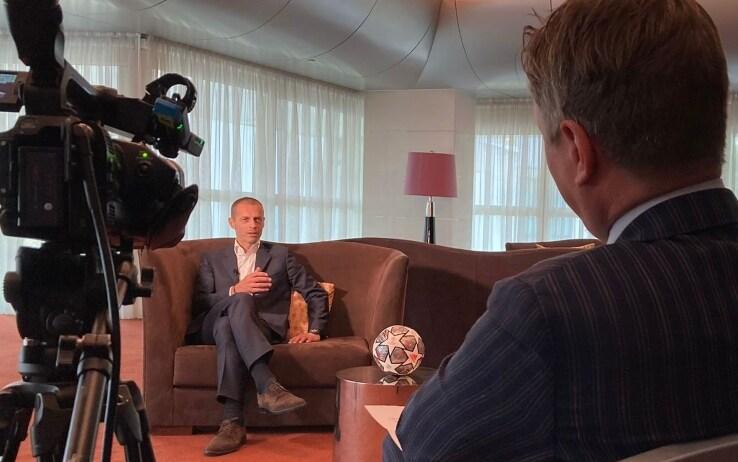 Ceferin, intervista esclusiva con Sky Sport