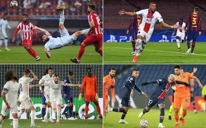 I 10 gol più belli della Champions 2020-21. VIDEO