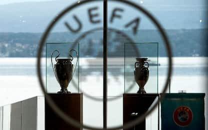 Uefa sospende procedimento su Juve, Real e Barça