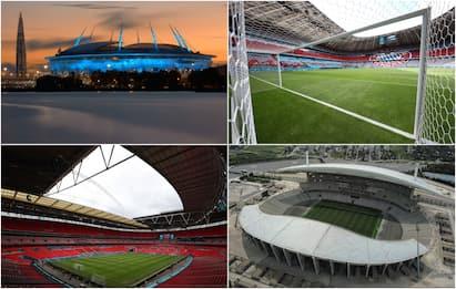Champions, le sedi delle finali dal 2022 al 2025