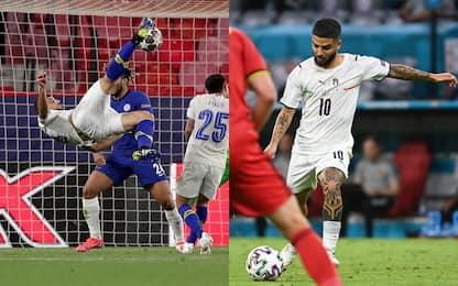 Gol dell'anno Uefa, Insigne battuto da Taremi