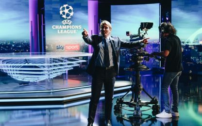 Conte pronto per la Champions su Sky Sport. VIDEO