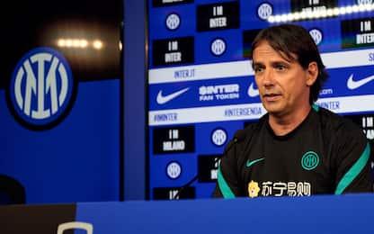 """Inzaghi verso il Real: """"Bastoni vuole esserci"""""""