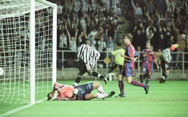 newcastle barcellona 1997 getty