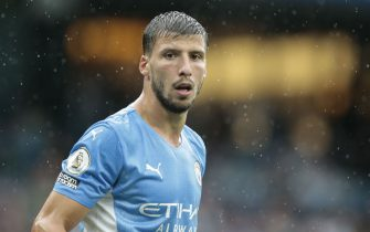 Ruben Dias #3 of Manchester City in Manchester, United Kingdom on 8/21/2021. (Photo by Conor Molloy/News Images/Sipa USA)