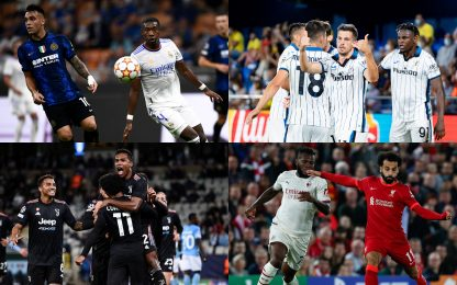 Champions, la situazione girone per girone