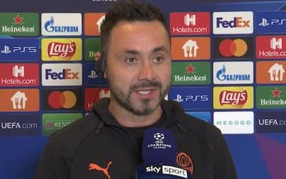 """De Zerbi: """"Quest'anno l'Inter è ancora più forte"""""""
