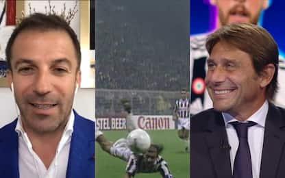 Conte e Del Piero ricordano il gol al Borussia