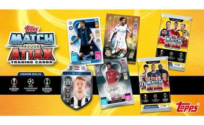 Match Attax: le trading cards del calcio europeo
