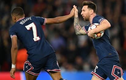 Messi trascina il Psg, vincono Liverpool e Real