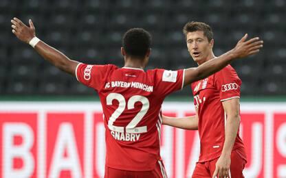 Coppie-gol in Champions, nessuno come Lewa-Gnabry