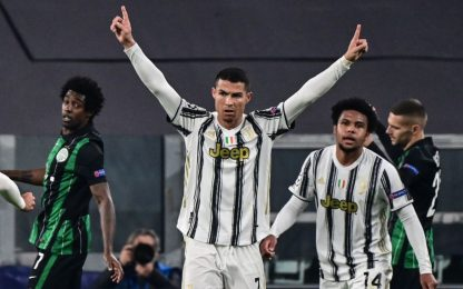 CR7 stacca Raul: gol a 34 squadre in Champions