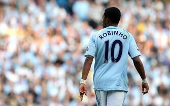 File photo dated 13-09-2008 of De Souza Robinho, Manchester City.