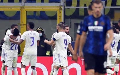 L'Inter spreca, Rodrygo no: 1-0 Real all'89'