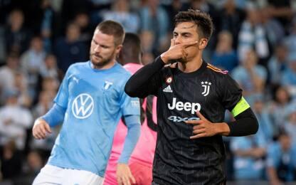 Malmoe-Juventus 0-3. HIGHLIGHTS