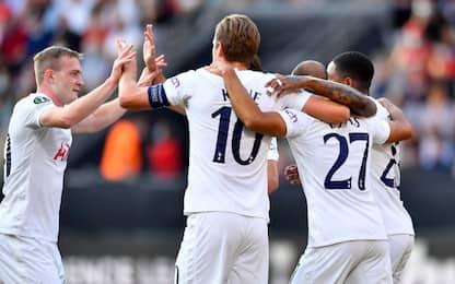 Hojbjerg salva il Tottenham: con il Rennes è 2-2