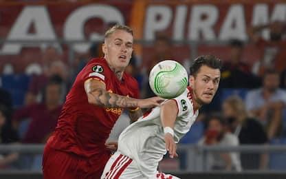 Roma-Cska Sofia 1-1 LIVE: perla di Pellegrini