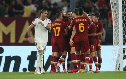 Show della Roma: 5-1 al Cska Sofia in Conference