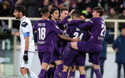 Fiorentina avanti, Benassi piega 2-0 il Cittadella