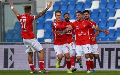 Sassuolo eliminato, vince il Perugia 2-1