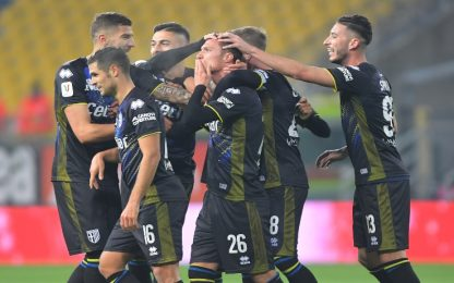 Gioia Parma al 92', Frosinone ko: ora la Roma