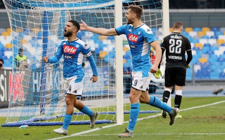 Napoli Perugia, il risultato in diretta live degli ottavi