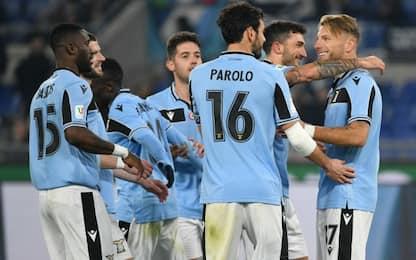 Lazio ai quarti, Immobile supera Giordano