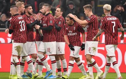 Milan, tris alla Spal: ai quarti c'è il Torino