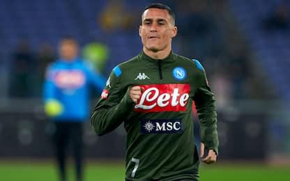 Napoli-Lazio LIVE: Callejon c'è, debutta Lobotka