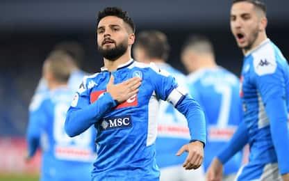 Napoli-Lazio 1-0 LIVE, espulsi Hysaj e Leiva