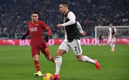 Juve-Roma 1-0 LIVE: sblocca CR7